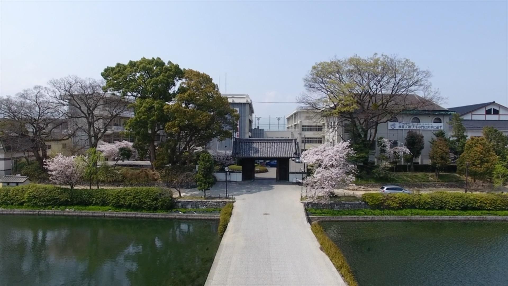 旧西条藩陣屋跡(西条高校)