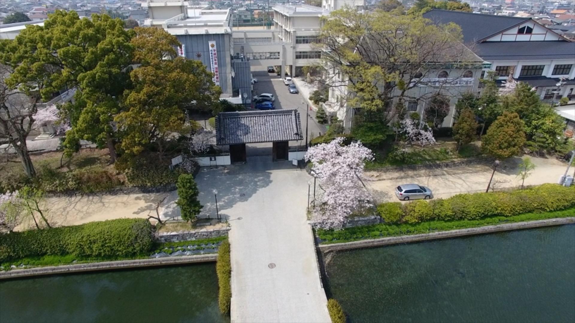 旧西条藩陣屋跡(西条高校)2